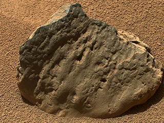 Mars Rock Et-Then taken October 29, 2012 by NASA's Curiosity Rover