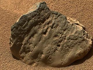 Mars Rock Et-Then taken October 29, 2012 by NASA's Curiosity Rover