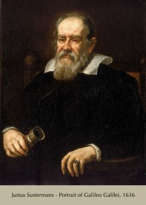 Susterman's portrait of Galileo, 1626