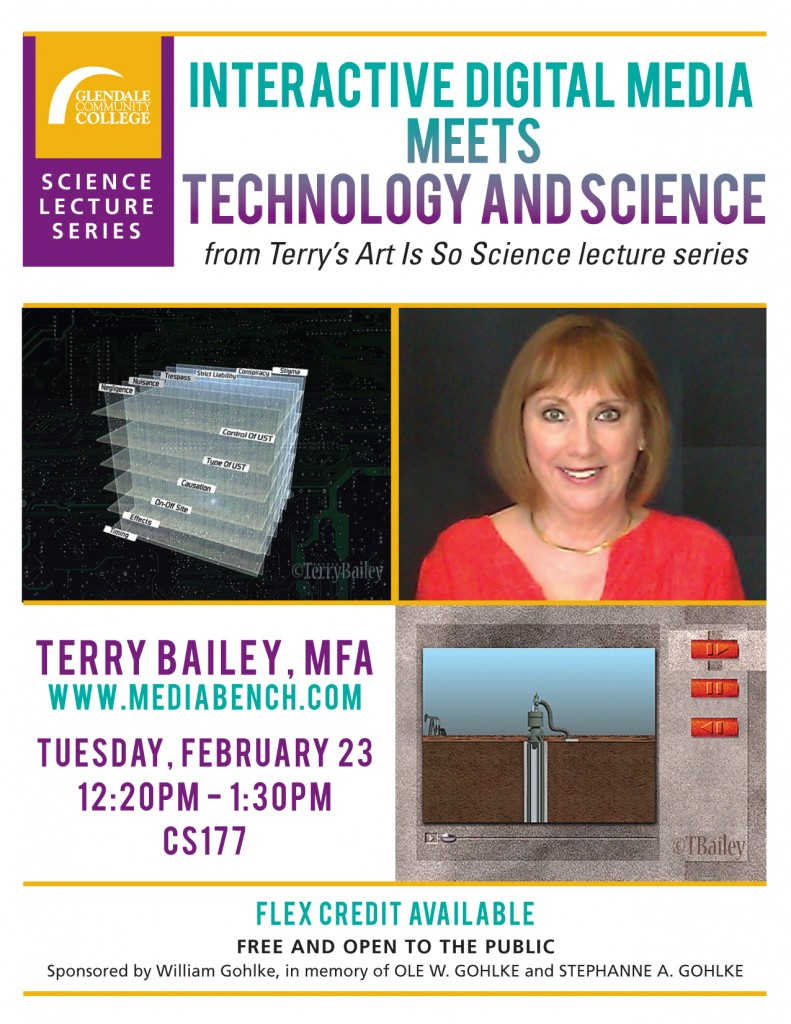 Terry Bailey Science-Art Lecture at Glendale College