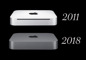 Photo of 2011 and 2018 Mac minis